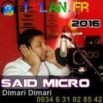 said micro izlan musique amazigh 2016 dimari dimari